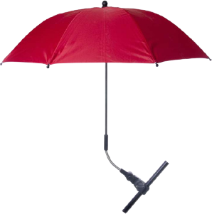 Red Baby Pram Umbrella